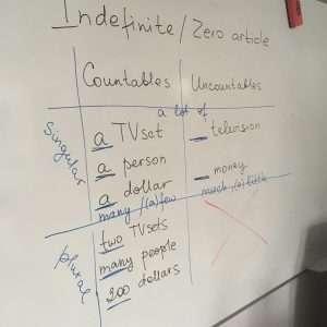 100 дней с английским - Урок 56 - Исчисляемые и неисчисляемые